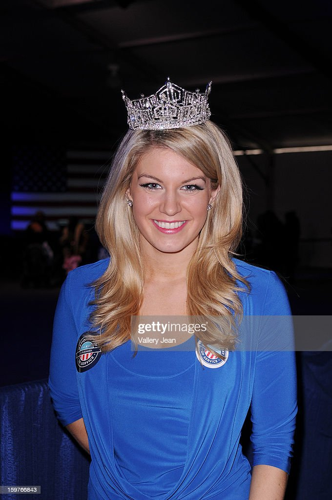 Miss USA 2013 Mallory Hagan attends Presidential National Day Of Service at National Mall on January 19, 2013 in Washington, DC.