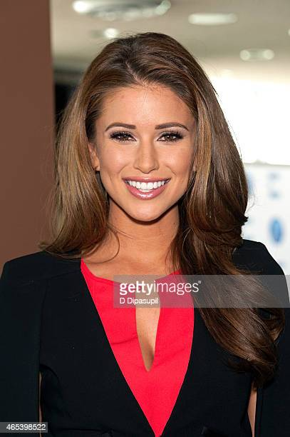 Miss USA 2014 Nia Sanchez attends the UN Women For Peace Association International Women's Day Celebration at UN Delegates Dining Room and Terrace on...