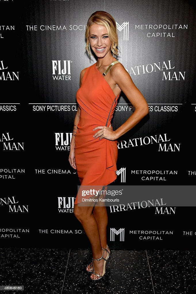"The Cinema Society With FIJI Water And Metropolitan Capital Bank Host A Screening Of Sony Pictures Classics' ""Irrational Man""- Arrivals"