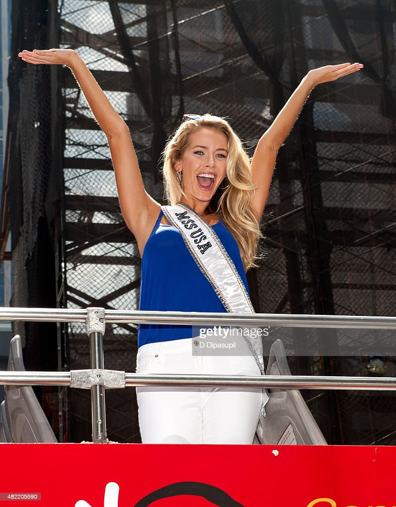 Miss USA 2015 Olivia Jordan Takes Gray Line CitySightseeing Tour