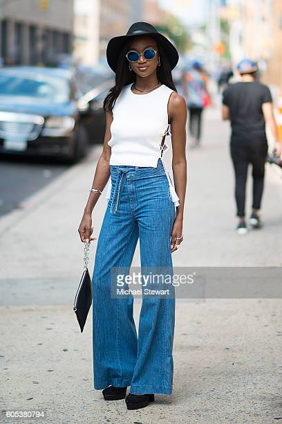 Miss USA 2016 Deshauna Barber is seen in Midtown on September 13 2016 in New York City