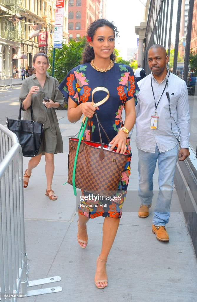 Miss USA 2017 Kara McCulloug is seen walking in Soho on May 18, 2017 in New York City.