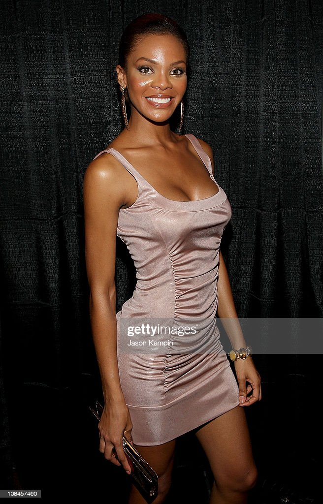 Miss USA Crystle Stewart attends the after party for 'Stand Up For A Cure Jerry Seinfeld Live In Concert' at The Club at Madison Square Garden on...