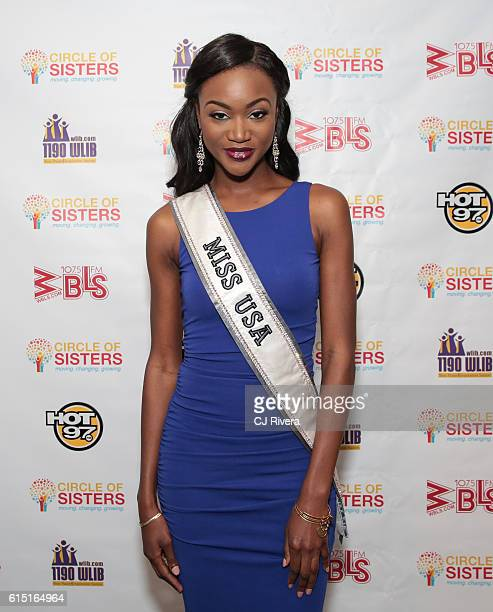 Miss USA Deshaunna Barber attends the '2016 Circle of Sisters' at Jacob Javits Center on October 16 2016 in New York City