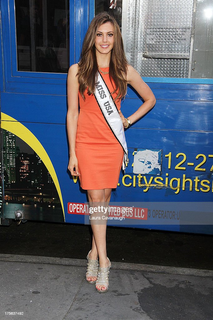 Miss USA <a gi-track='captionPersonalityLinkClicked' href=/galleries/search?phrase=Erin+Brady+-+Miss+USA+2013&family=editorial&specificpeople=11009508 ng-click='$event.stopPropagation()'>Erin Brady</a> attends CitySights NY 'Ride Of Fame' With 2013 Miss USA <a gi-track='captionPersonalityLinkClicked' href=/galleries/search?phrase=Erin+Brady+-+Miss+USA+2013&family=editorial&specificpeople=11009508 ng-click='$event.stopPropagation()'>Erin Brady</a> on August 5, 2013 in New York City.