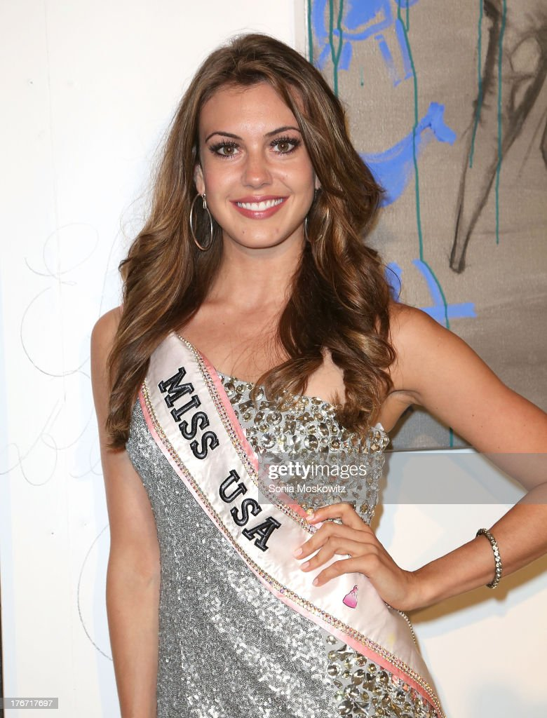 Miss USA Erin Brady attends Domingo Zapata's A Contemporary Salon event>> on August 17, 2013 in Watermill, New York.