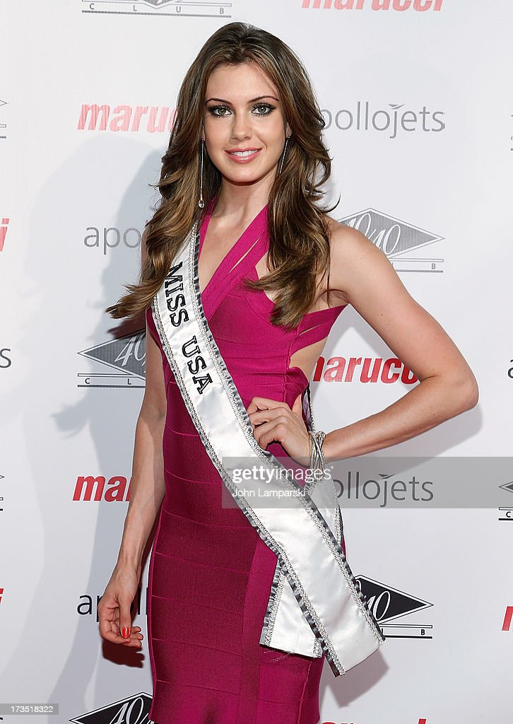 Miss USA Erin Brady attends The 4th Annual All-Star State Of Mind Celebration at 40 / 40 Club on July 15, 2013 in New York City.