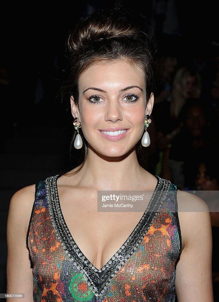 Miss USA Erin Brady attends the Custo Barcelona show during Spring 2014 Mercedes-Benz Fashion Week at The Stage at Lincoln Center on September 8, 2013 in New York City.