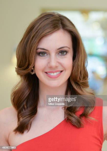 Miss USA Erin Brady shops for her bridal registry at Bernardaud Flagship Store on May 21 2014 in New York City
