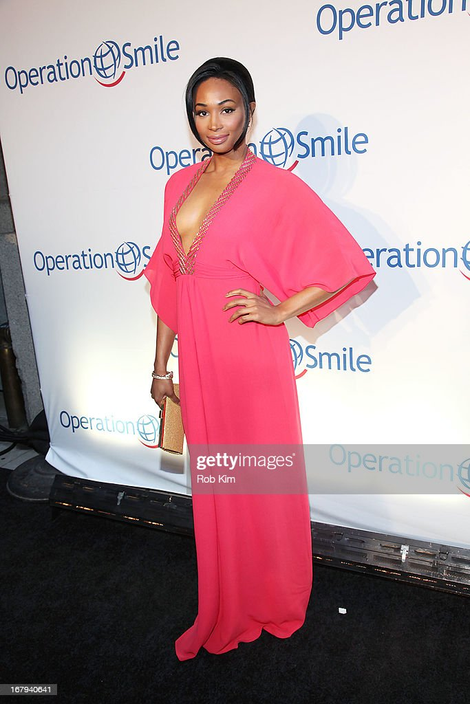 Miss USA Nana Meriwether attends Operation Smile 30th Anniversary Celebration at Cipriani 42nd Street on May 2, 2013 in New York City.