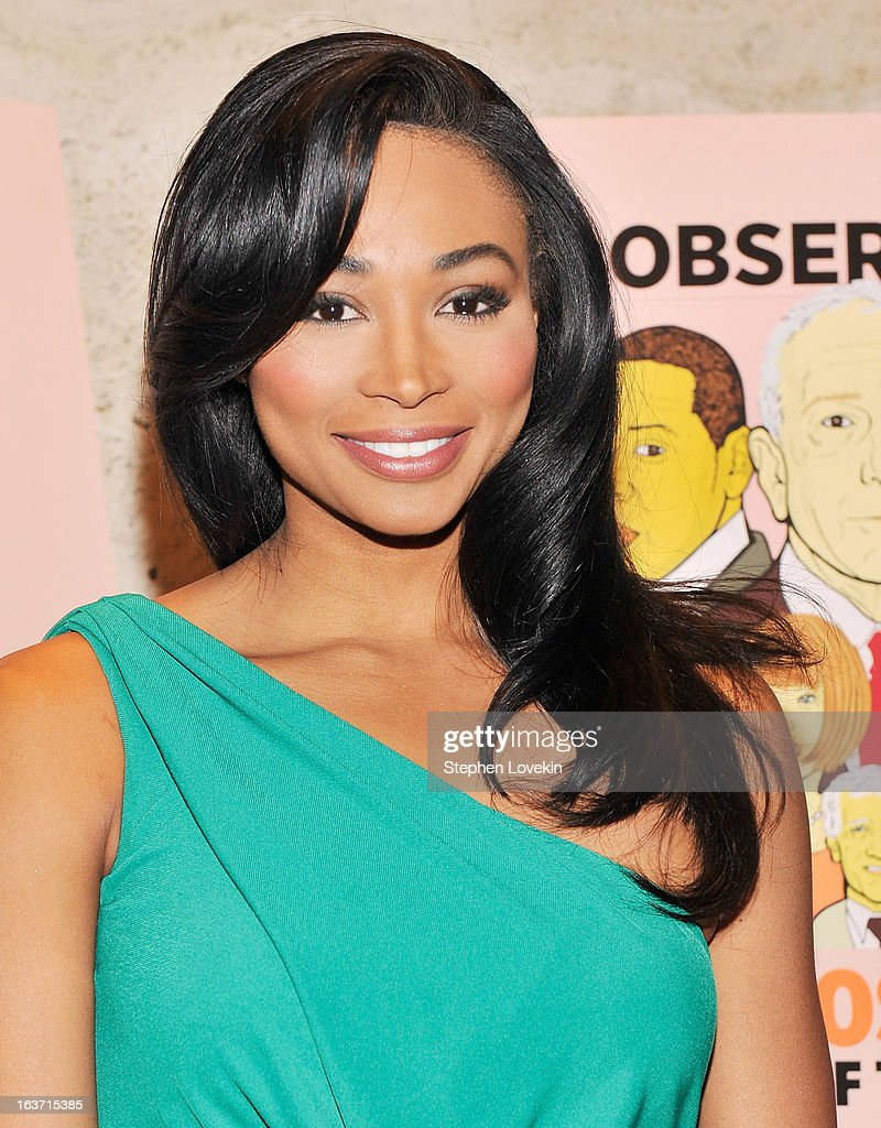 Miss USA Nana Meriwether attends The New York Observer 25th Anniversary Party at Four Seasons Restaurant on March 14, 2013 in New York City.