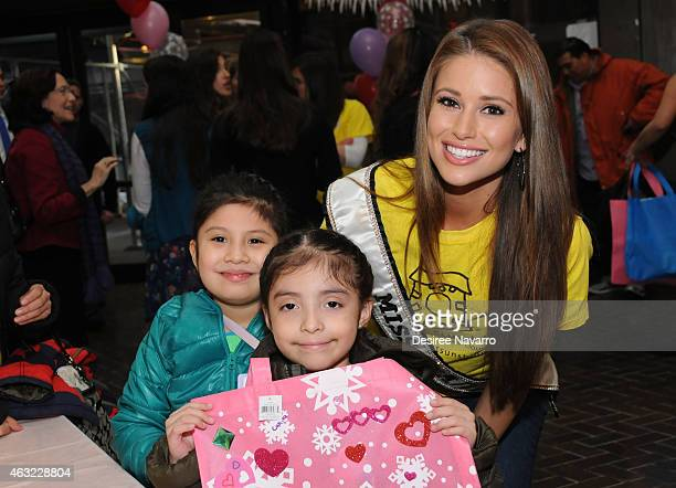 Miss USA Nia Sanchez attends 2015 Kravis Children's Hospital at Mount Sinai to celebrate life at their annual Reunion Party at Mount Sinai Medical...