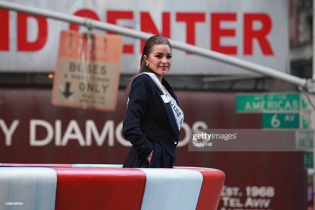 Miss USA Olivia Culpo attends the 86th Annual Macy's Thanksgiving Day Parade on November 22, 2012 in New York City.