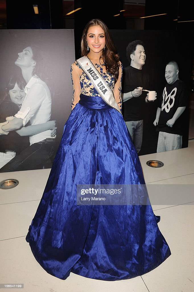 Miss USA Olivia Culpo attends the Zenith Watches Best Buddies Miami Gala at Marlins Park on November 16, 2012 in Miami, Florida.