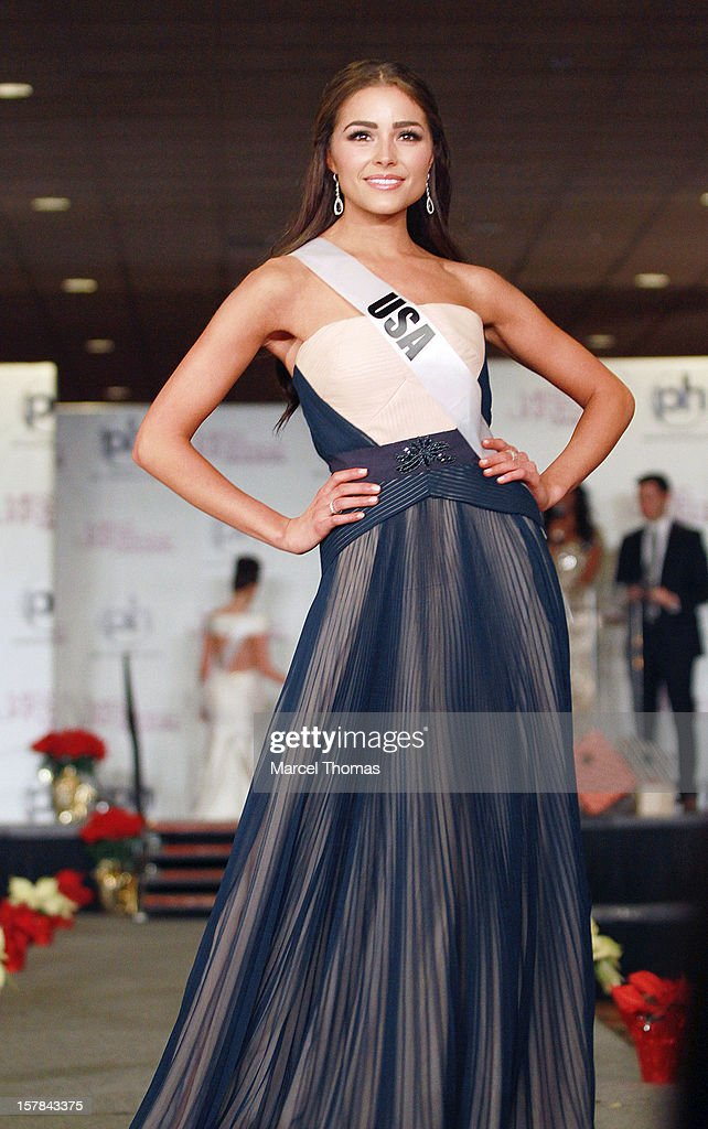 Miss USA Olivia Culpo walks the runway as part of the 2012 Miss Universe Pageant's Official Welcome Event at Planet Hollywood Resort and Casino on December 6, 2012 in Las Vegas, Nevada.