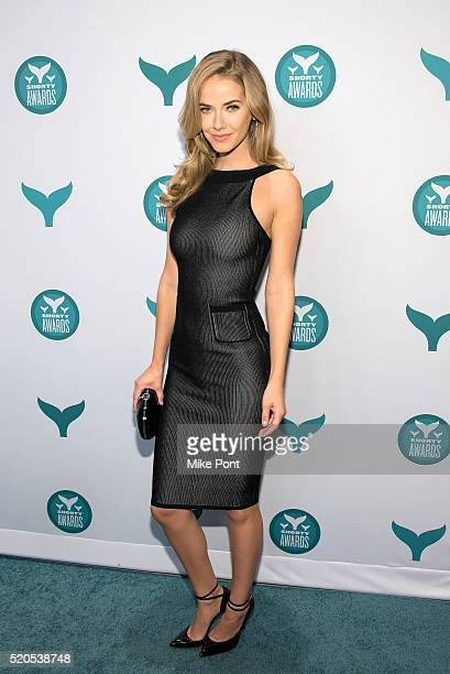 Miss USA Olivia Jordan attends the 8th Annual Shorty Awards at The New York Times Center on April 11 2016 in New York City