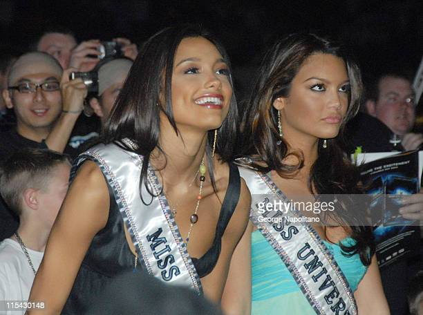 Miss USA Rachel Smith and Miss Universe Zuleyka Rivera