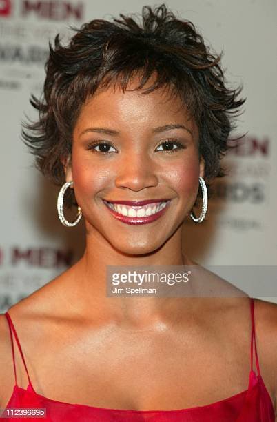 Miss USA Shauntay Hinton during 2002 GQ Men of the Year Awards Arrivals at Hammerstein Ballroom in New York City New York United States