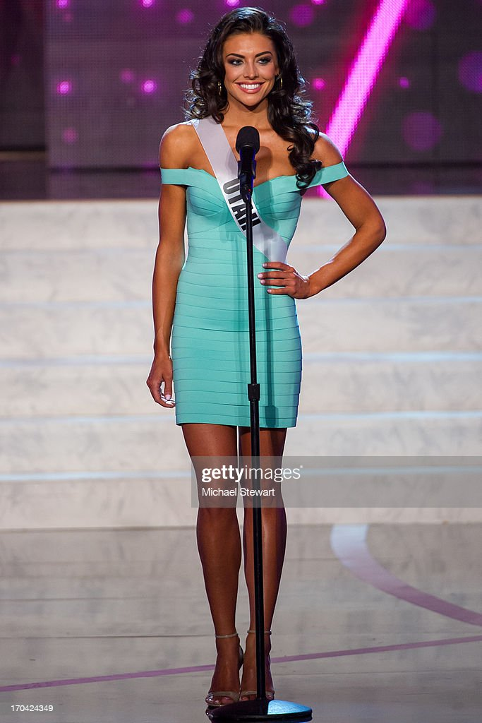Miss Utah USA Marissa Powell competes in the 2013 Miss USA pageant preliminary competition at PH Live at Planet Hollywood Resort & Casino on June 12, 2013 in Las Vegas, Nevada.