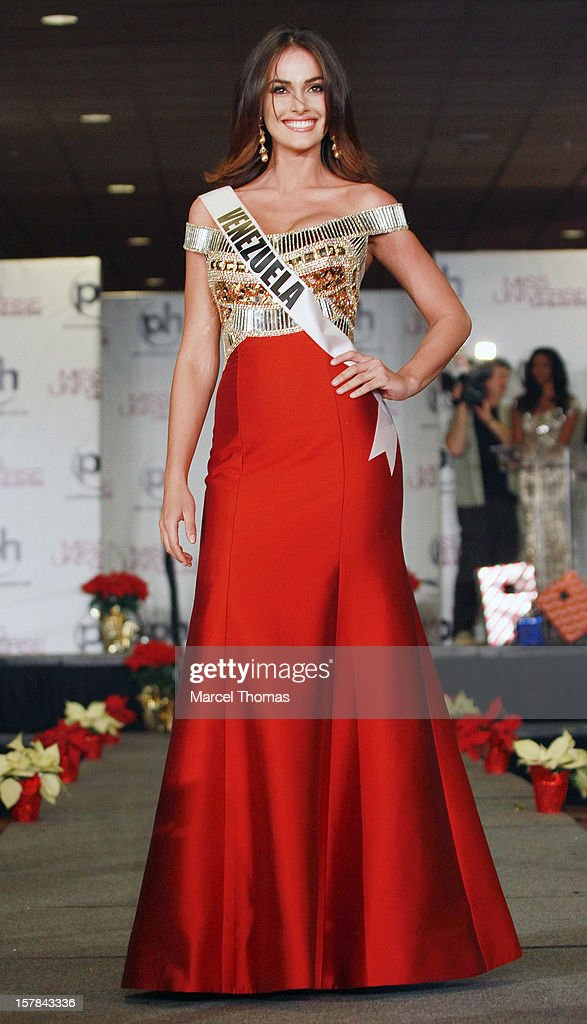 Miss Venezuela Irene Sofia Esser Quintero walks the runway as part of the 2012 Miss Universe Pageant's Official Welcome Event at Planet Hollywood Resort and Casino on December 6, 2012 in Las Vegas, Nevada.
