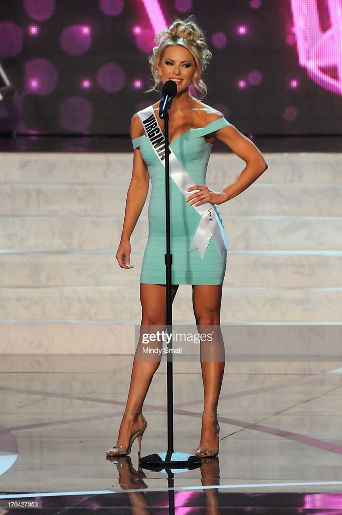 Miss Virginia USA Shannon McAnally appears at the 2013 Miss USA preliminary competition at PH Live at Planet Hollywood Resort & Casino on June 12, 2013 in Las Vegas, Nevada.