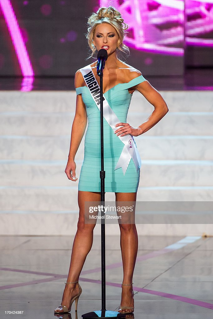 Miss Virginia USA Shannon McAnally competes in the 2013 Miss USA pageant preliminary competition at PH Live at Planet Hollywood Resort & Casino on June 12, 2013 in Las Vegas, Nevada.