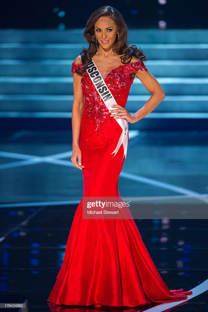 Miss Wisconsin USA Chrissy Zamora competes in the 2013 Miss USA pageant preliminary competition at PH Live at Planet Hollywood Resort & Casino on June 12, 2013 in Las Vegas, Nevada.