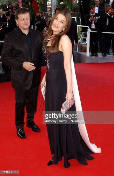Miss World 1994 and actress Aishwarya Rai arriving for the premiere of The Matrix Reloaded at the Palais des Festival in Cannes