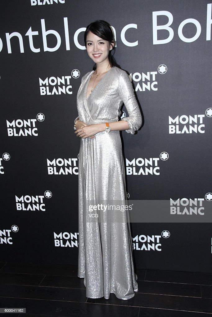 Zhang Zilin And Jeanette Aw Promote Mont Blanc In Beijing