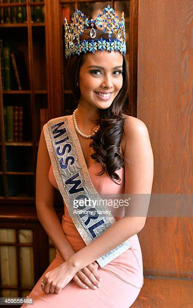 Miss World Megan Young attends a photocall for Miss World 2014 on November 25 2014 in London England
