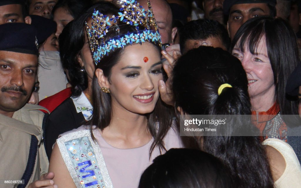 The Official Thread of Miss World 2017 ® Manushi Chhillar - India - Page 2 Miss-world-winner-manushi-chhillar-arrives-at-chhatrapati-shivaji-picture-id880249728