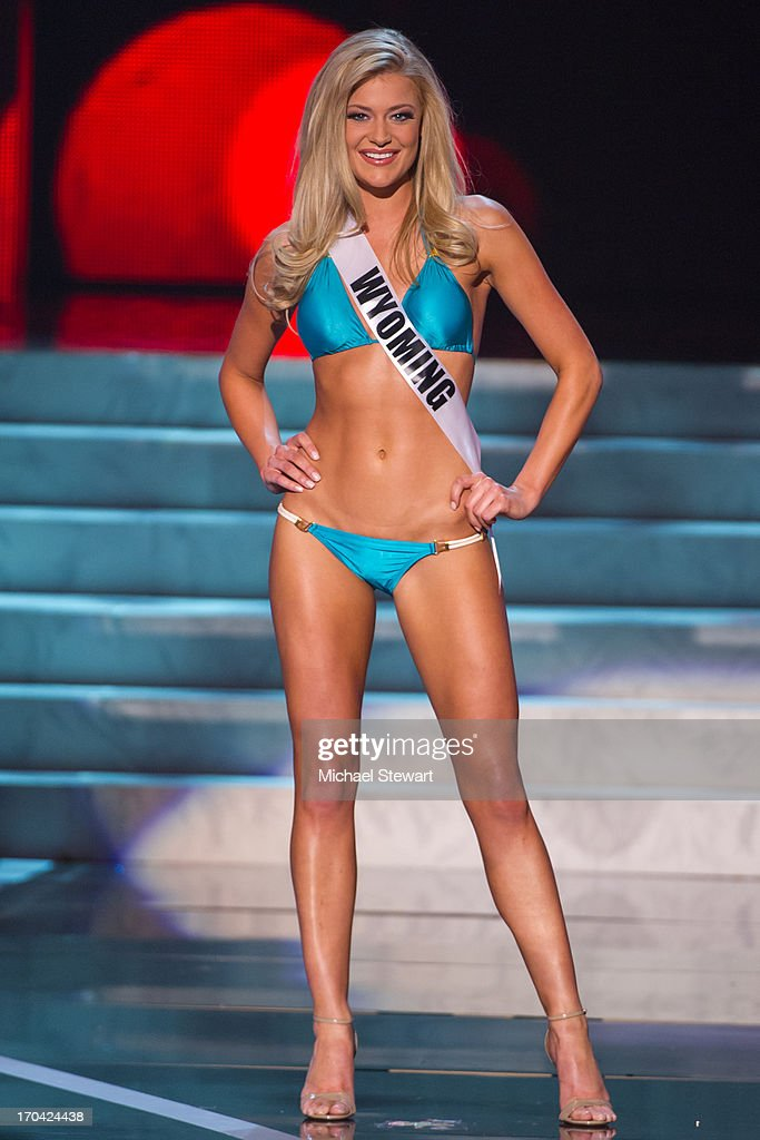 Miss Wyoming USA Courtney Gifford competes in the 2013 Miss USA pageant preliminary competition at PH Live at Planet Hollywood Resort & Casino on June 12, 2013 in Las Vegas, Nevada.