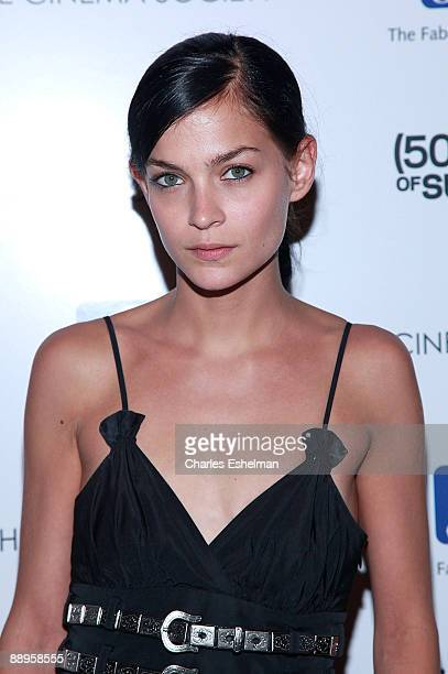 MisShapes' Leigh Lezark attends a screening of '500 Days of Summer' hosted by the Cinema Society with Brooks Brothers Cotton at the Tribeca Grand...
