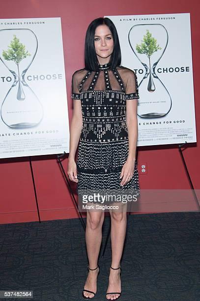 Misshapes' Leigh Lezark attends the 'Time To Choose' New York screening at Landmark's Sunshine Cinema on June 1 2016 in New York City
