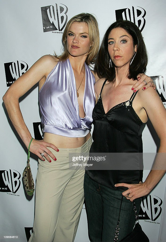 Missi Pyle and Brooke Dillman during 2005 WB Network's All Star Celebration Arrivals at The Cabana Club in Hollywood California United States