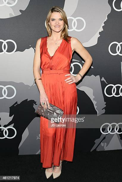 Missi Pyle attends Audi celebrates Golden Globes Week 2015 at Cecconi's Restaurant on January 8 2015 in Los Angeles California