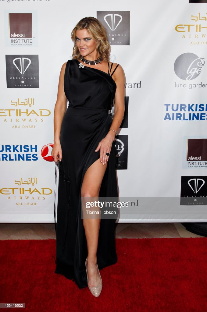 Missi Pyle attends the Face Forward gala supporting victims of domestic abuse at Millennium Biltmore Hotel on September 13 2014 in Los Angeles...