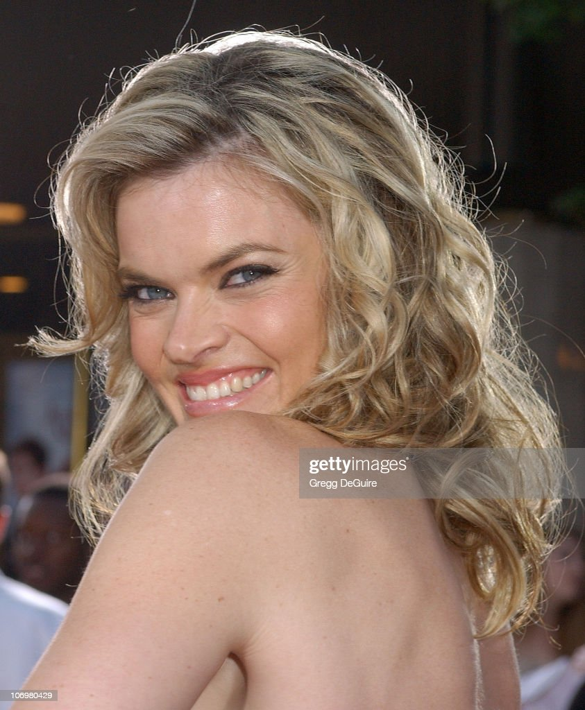 Missi Pyle during 'Just My Luck' Los Angeles Premiere Arrivals at National Theatre in Westwood California United States