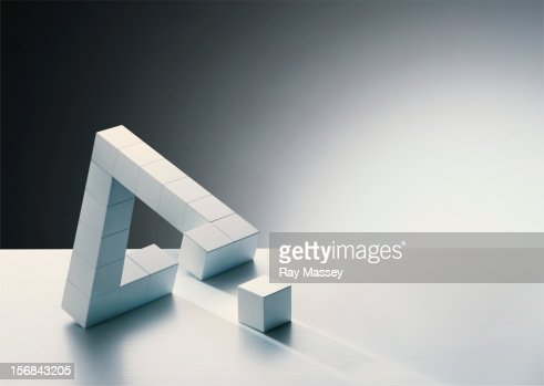 Missing cube in triangle formation
