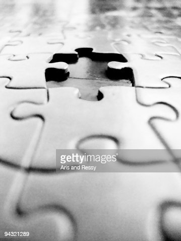 Missing Piece of a Jigsaw Puzzle