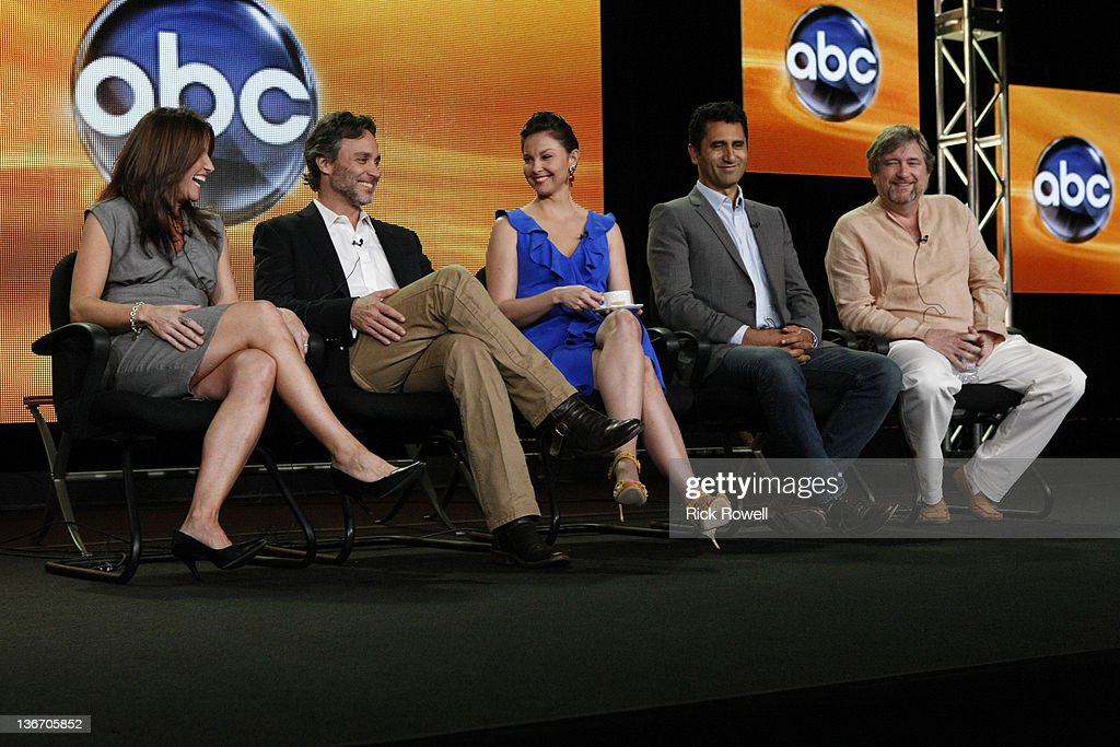 TOUR 2012 - 'Missing' Session - The cast and producers of ABC's 'Missing' addressed the press at Disney/ABC Television Group's Winter Press Tour 2012. GINA MATTHEWS (EXECUTIVE PRODUCER), GRANT SCHARBO (WRITER/EXECUTIVE PRODUCER), ASHLEY