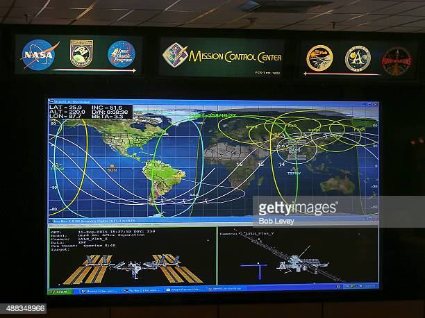 Mission Contol Center at Lyndon B Johnson Space Center on September 15 2015 in Houston Texas