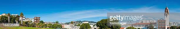 Mission District de maisons Parc Dolores Castro panorama de San Francisco, en Californie