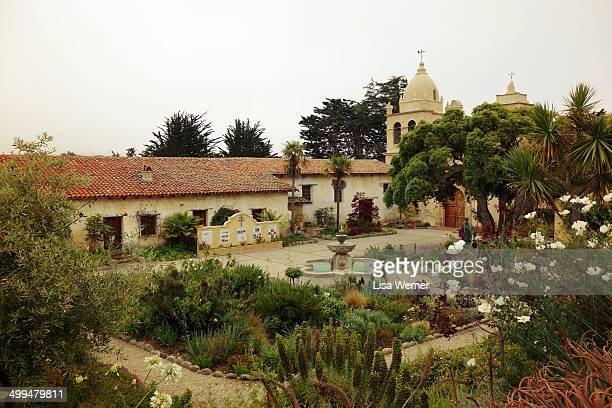 Mission San Carlos Borromeo de Carmelo in Carmel California