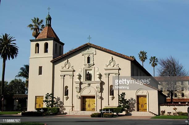 Chiesa della missione spagnola di Santa Clara de Asis, Santa Clara, California