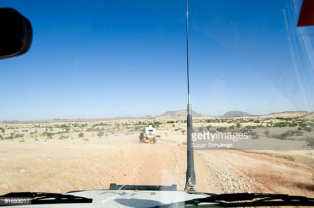 A mission that left the UNAMID base in Kutum taking a minumim of 8 hours escorting 2 fuel trucks North to Ana Begi to a rendezvous point where...