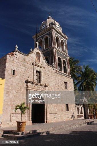 Missionen in Loreto-Baja California : Foto de stock