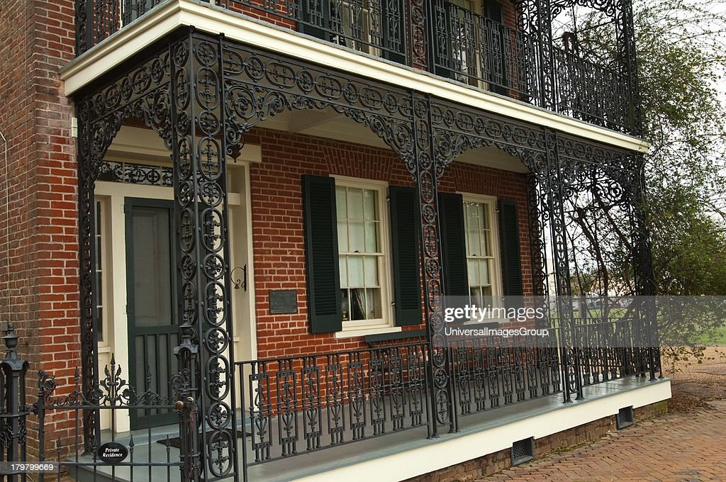 Mississippi Natchez Bontura built by free African American Robert Smith operated later as an in by Joseph Bontura 1851