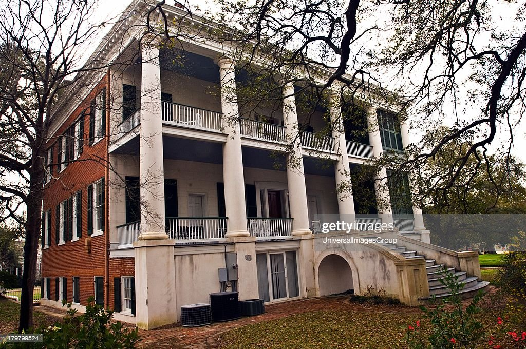 Mississippi Natchez Choctaw combines the Federal and Greek Revival architectural styles and is operated as a bed and breakfast and retreat center ca...
