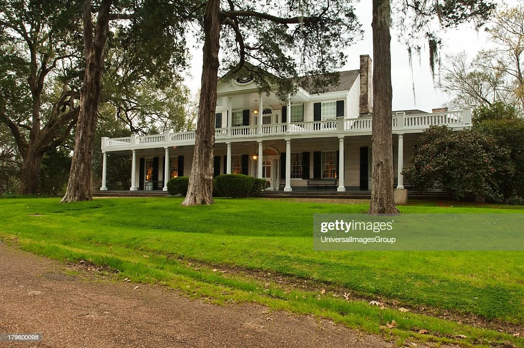 Mississippi Natchez Linden an Antebellum mansion now functioning as a bed Breakfast